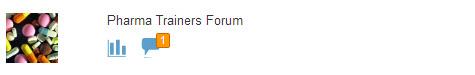 Pharma Trainers Forum