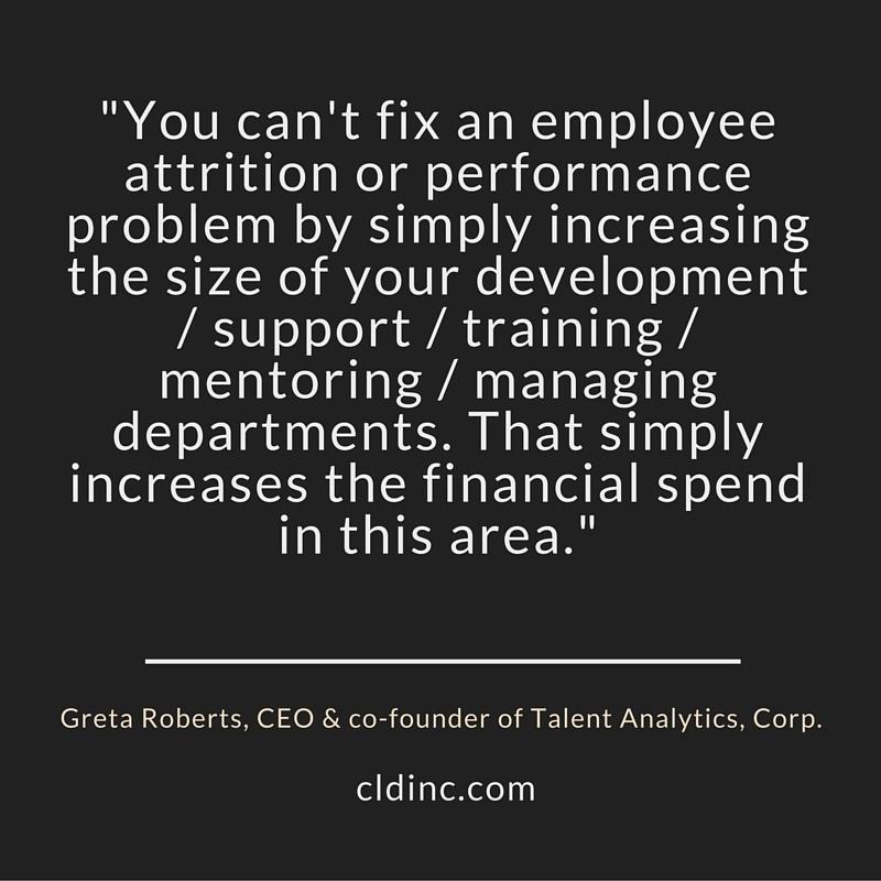 Measure training outcomes